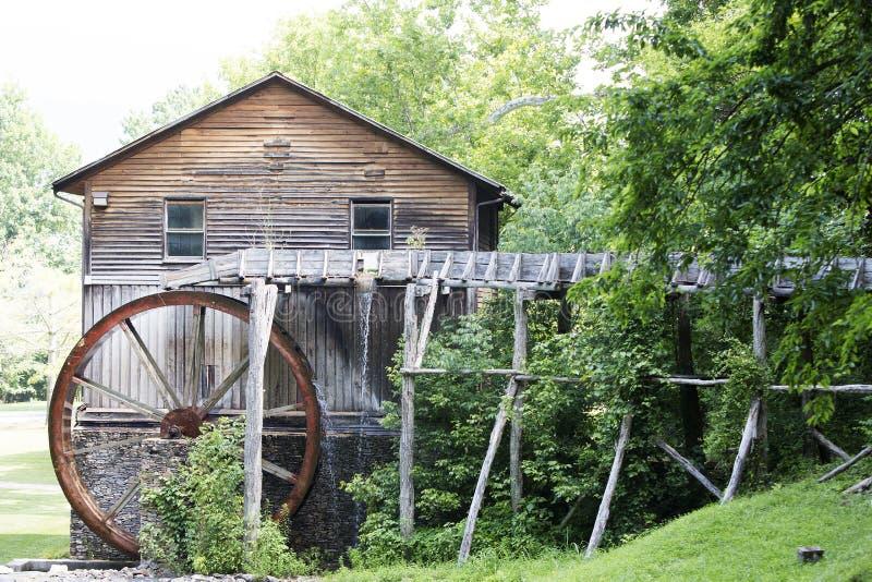 Деревянное Gristmill стоковое фото rf