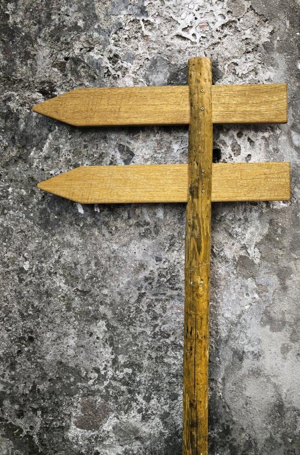Деревянные знаки стоковая фотография rf
