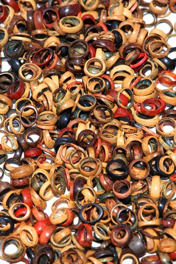 Деревянные кольца стоковая фотография rf