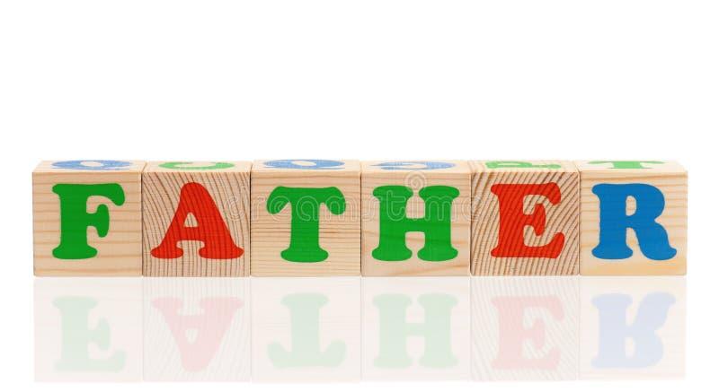 Деревянные кубы с письмами стоковое изображение rf