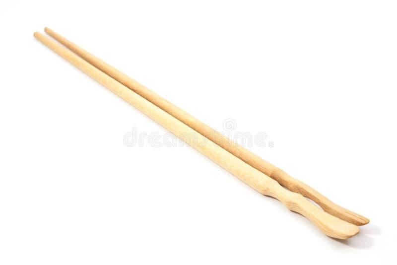 Деревянные палочки на белизне стоковые фото