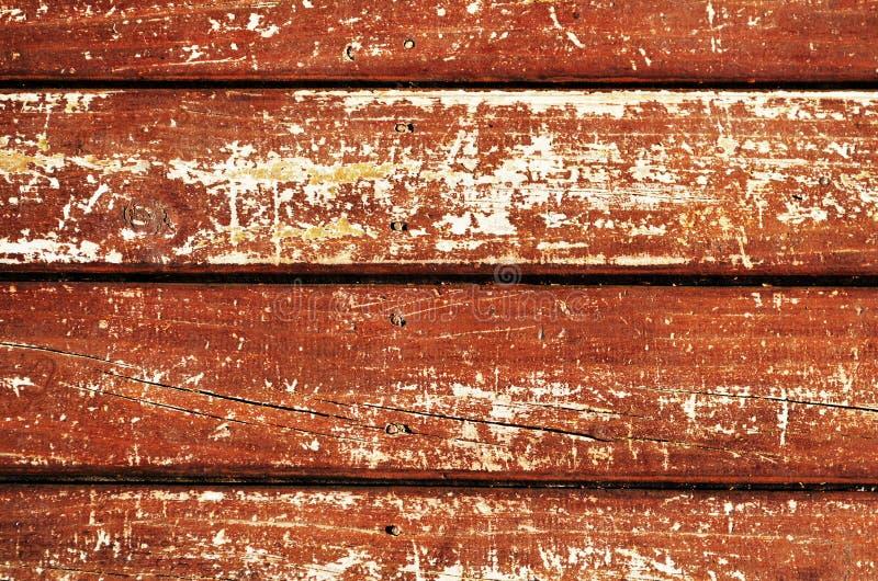 Деревянные покрашенные доски стоковые изображения