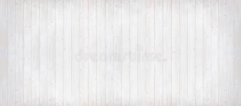 Деревянные планки освещают - серый цвет с вертикальными линиями, формат панорамы стоковые изображения