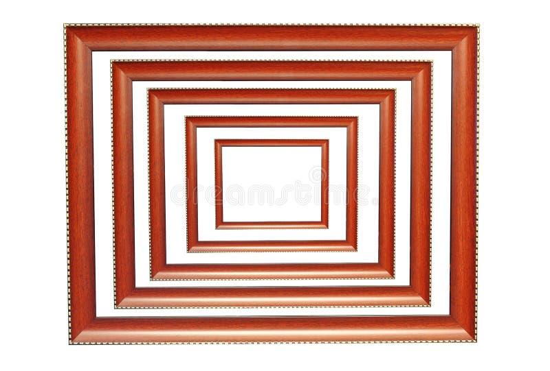 Деревянные рамки стоковое фото