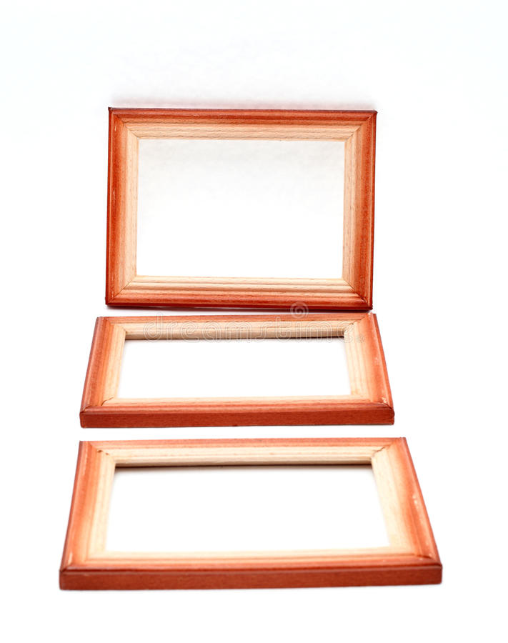Деревянные рамки стоковая фотография rf