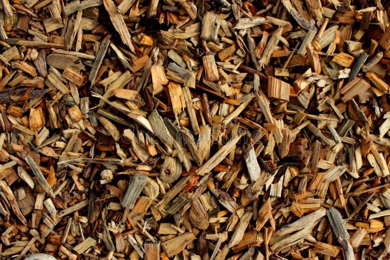 Деревянные щепки для создавать макулатурный картон или выравниваться стоковые изображения rf