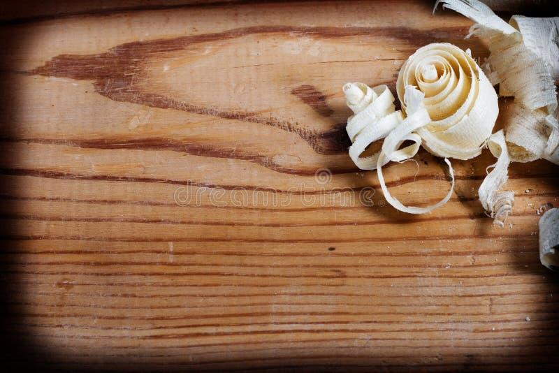 деревянные щепки стоковое изображение