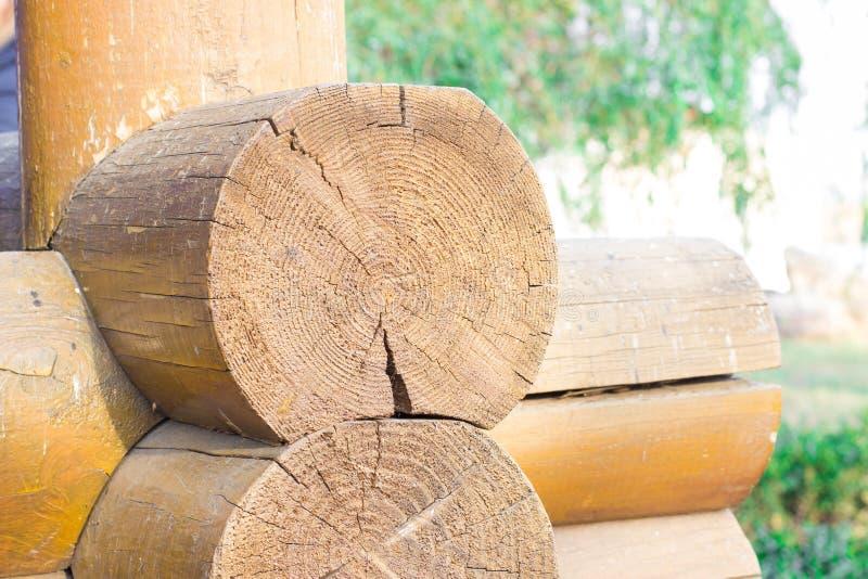 Деревянный блокгауз стоковые фотографии rf