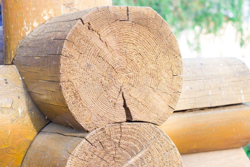 Деревянный блокгауз стоковое фото