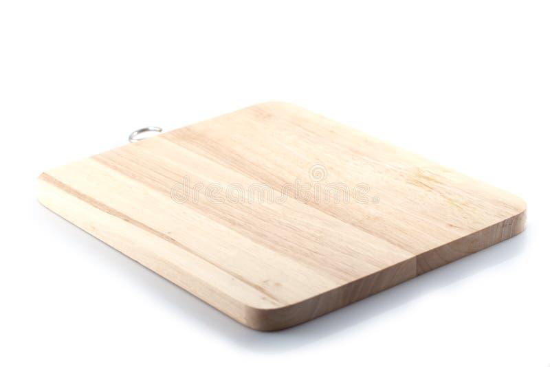 Деревянный блок мясника стоковая фотография rf