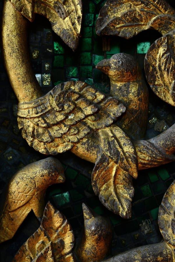 Деревянный высекать стоковая фотография rf