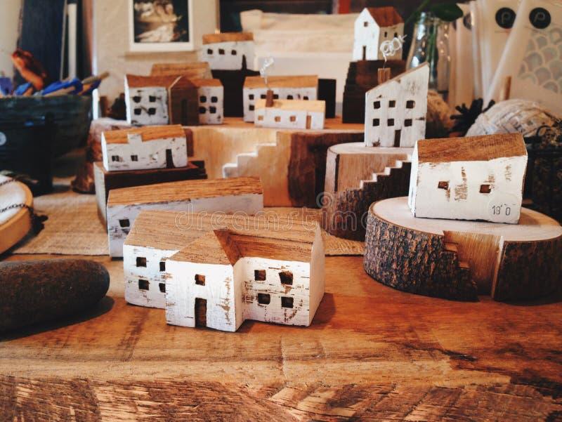 Деревянный город стоковое фото