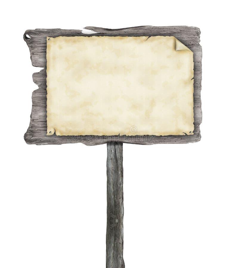 Деревянный знак стоковые фото