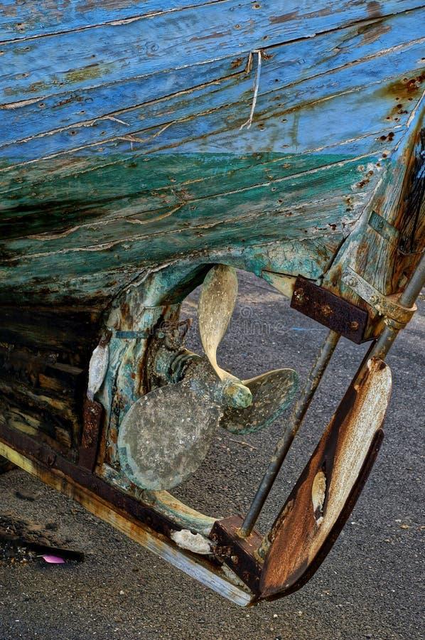 Деревянный корпус стоковая фотография rf