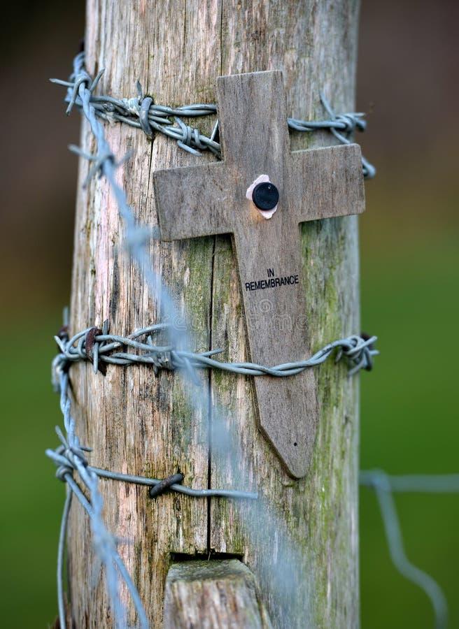 Деревянный крест стоковое фото