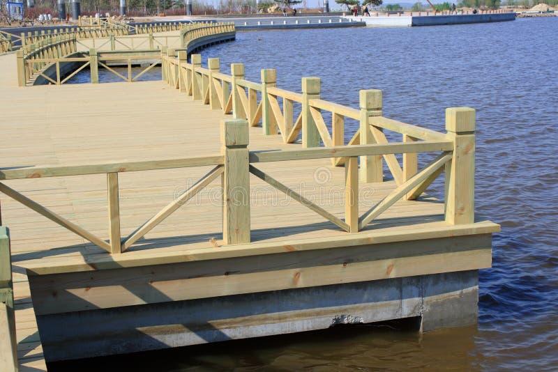 Деревянный мост стоковые фотографии rf
