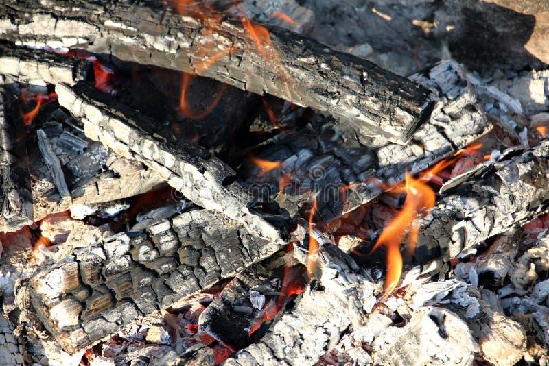 Деревянный огонь /campfire/камин стоковая фотография rf