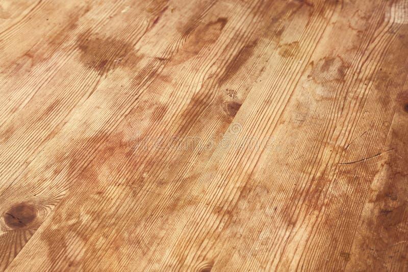 Деревянный пиломатериал палубы стоковая фотография