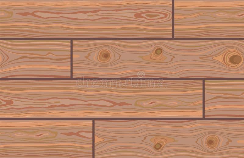 Деревянный полосатый текстурированный фон Коричневая деревянная стена, доска, стол или пол Регулятор рубки поверхность тротуара бесплатная иллюстрация