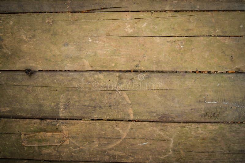 Деревянный пол старый стоковое изображение