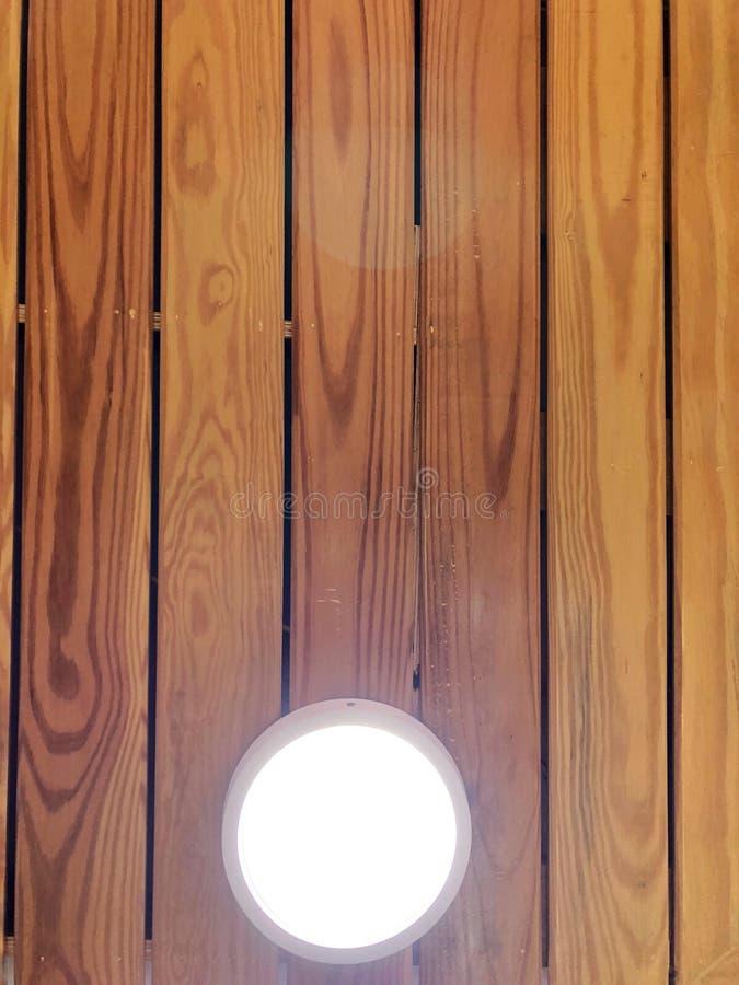 Деревянный потолок стоковое изображение