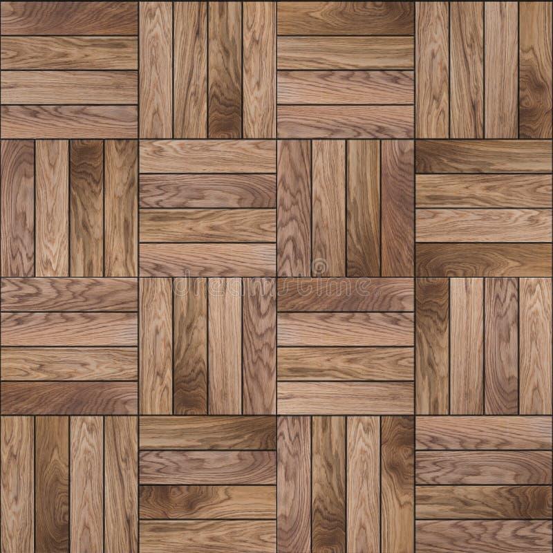 Деревянный пол партера. Безшовная текстура. стоковое изображение