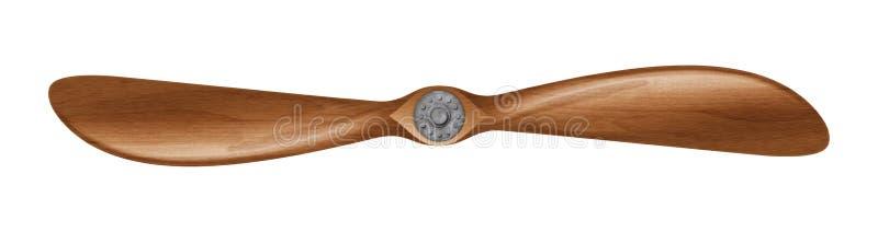 Деревянный пропеллер бесплатная иллюстрация