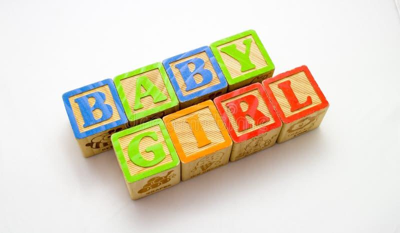 Деревянный ребёнок блоков стоковое фото rf