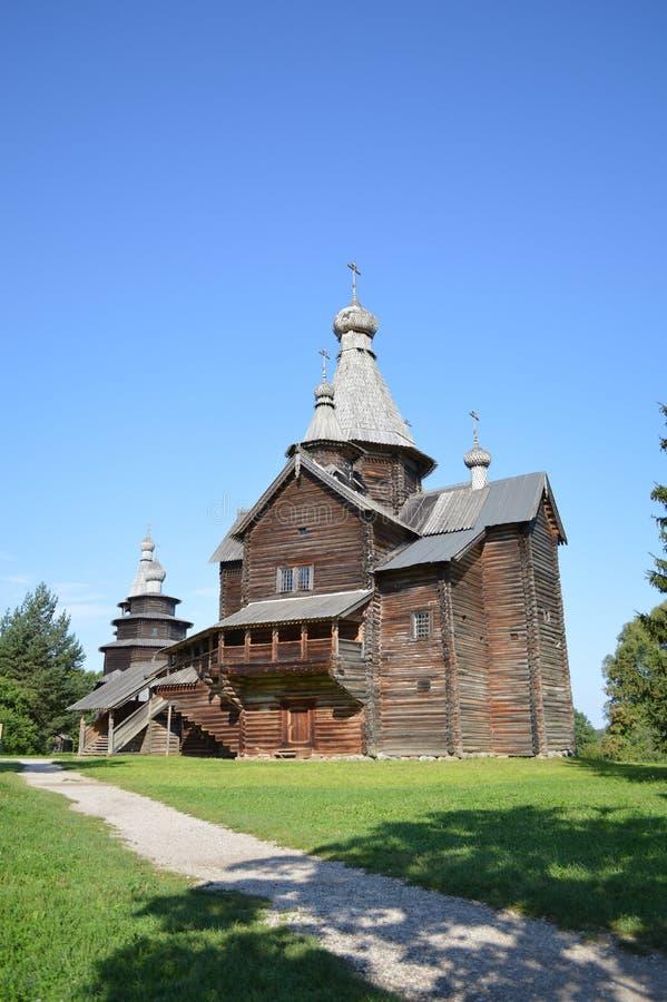 Деревянный собор на открытом воздухе стоковые фото