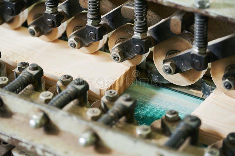 Деревянный соединять пальца планки стоковое фото rf