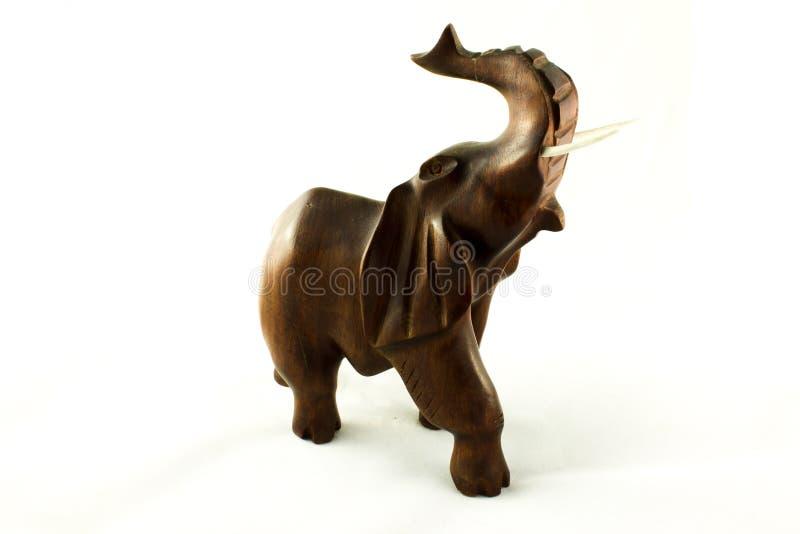 Download Деревянный слон стоковое изображение. изображение насчитывающей антиквариаты - 40579653