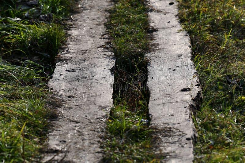 Деревянный тротуар стоковое фото