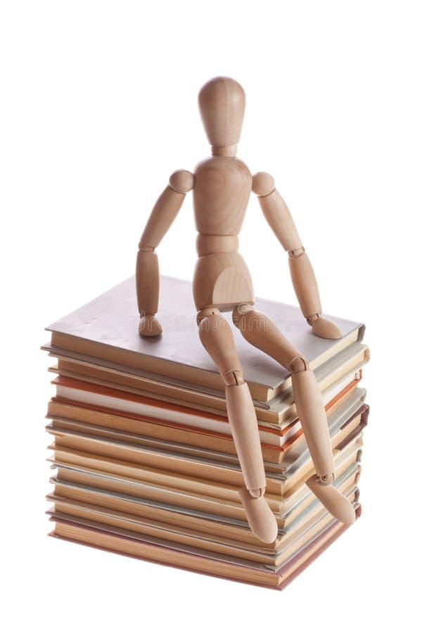 Деревянный человек манекена от gestalta Ikea стоковое фото