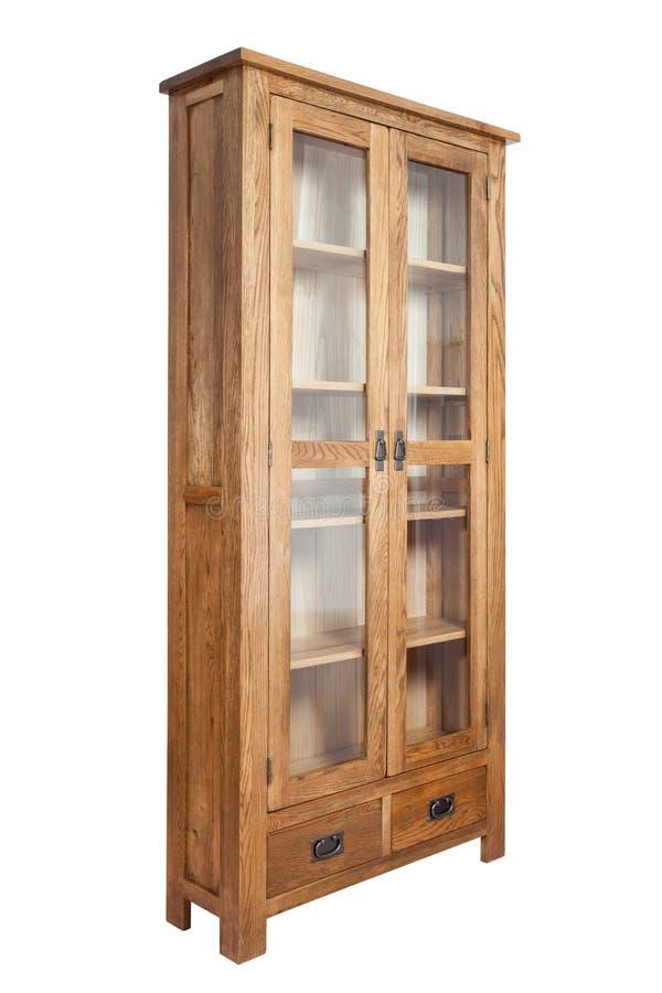 Деревянный bookcase стоковые изображения