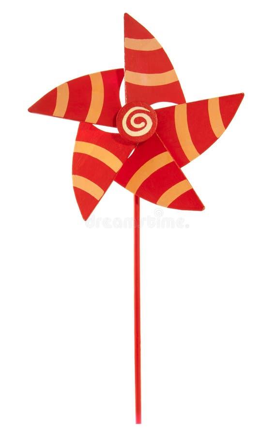 Деревянный pinwheel стоковое фото