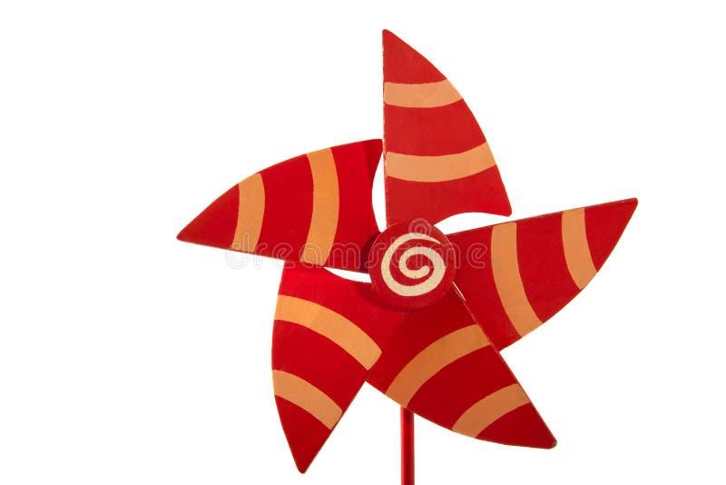 Деревянный pinwheel стоковая фотография