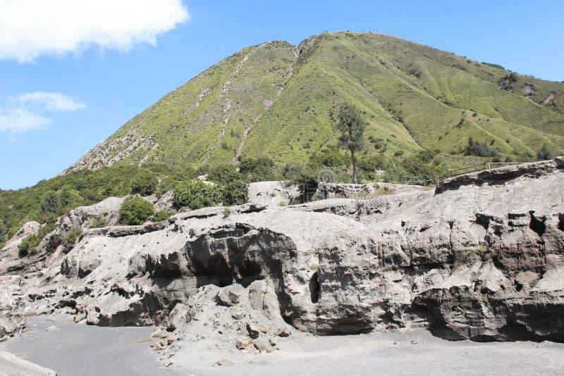 Держатель Bromo действующий вулкан стоковое фото