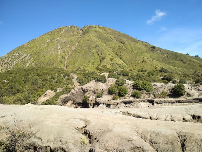 Держатель Bromo действующий вулкан стоковые изображения rf