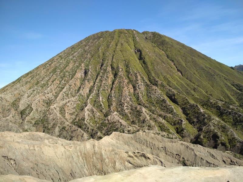 Держатель Bromo действующий вулкан стоковое фото rf