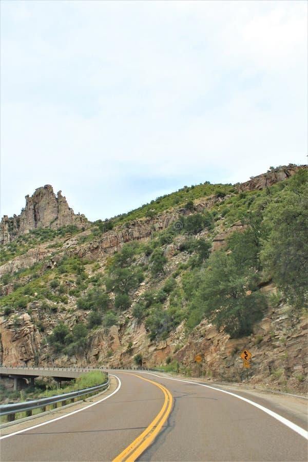 Держатель Lemmon, горы Санта Каталины, национальный лес Coronado, Tucson, Аризона, Соединенные Штаты стоковое изображение