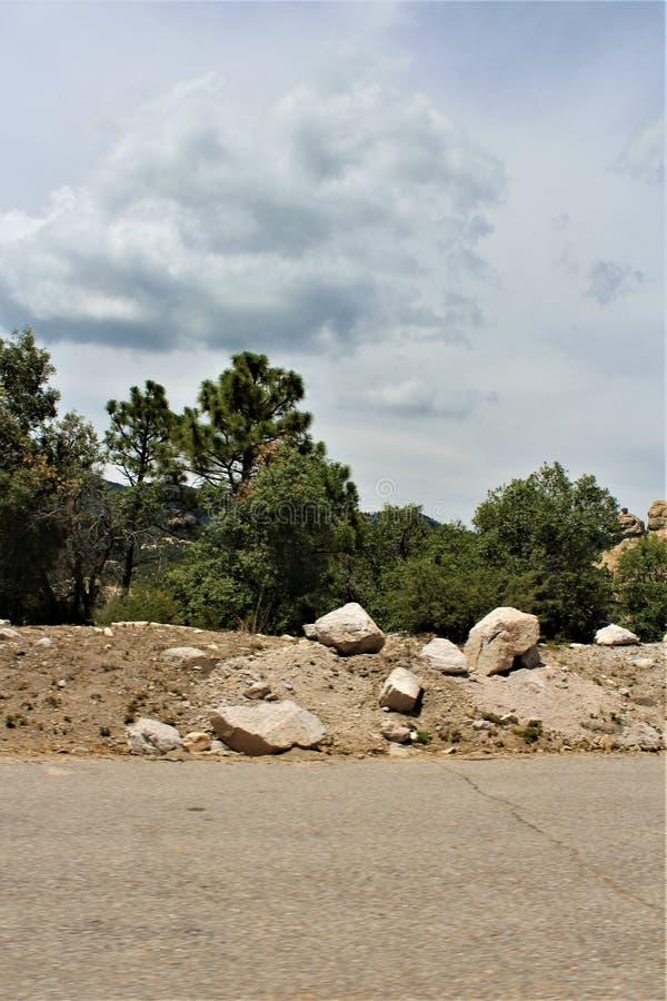 Держатель Lemmon, горы Санта Каталины, национальный лес Coronado, Tucson, Аризона, Соединенные Штаты стоковое изображение rf
