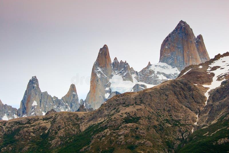 держатель np roy los glaciares fitz Аргентины стоковое фото rf