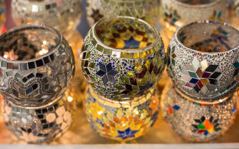 Download Держатели для свечи мозаики, Стамбул, Турция Стоковое Изображение - изображение насчитывающей восточно, оборудование: 81811659