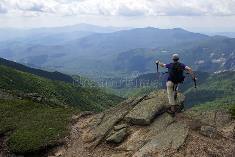 Держатель Лафайет - белые горы, Нью-Гэмпшир стоковая фотография