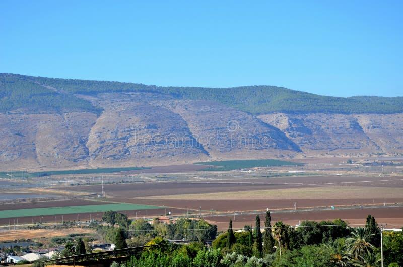 Держатель Gilboa Израиль стоковые изображения rf