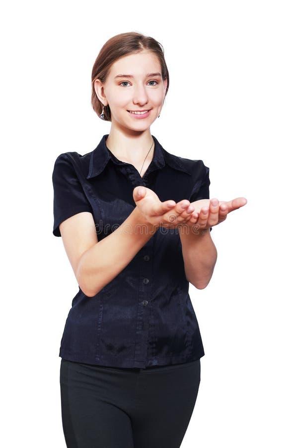 Держать ее руку стоковые изображения rf