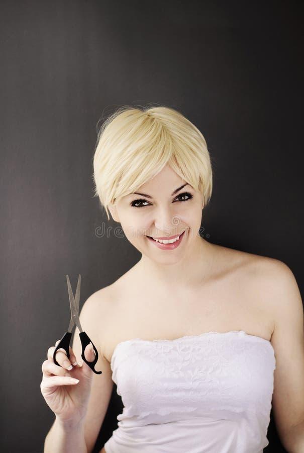 Держать ножницы стоковая фотография rf