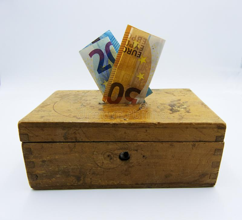 Держите ваши деньги безопасный, концепция стоковые изображения rf