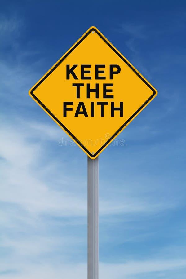 Держите веру стоковые изображения rf