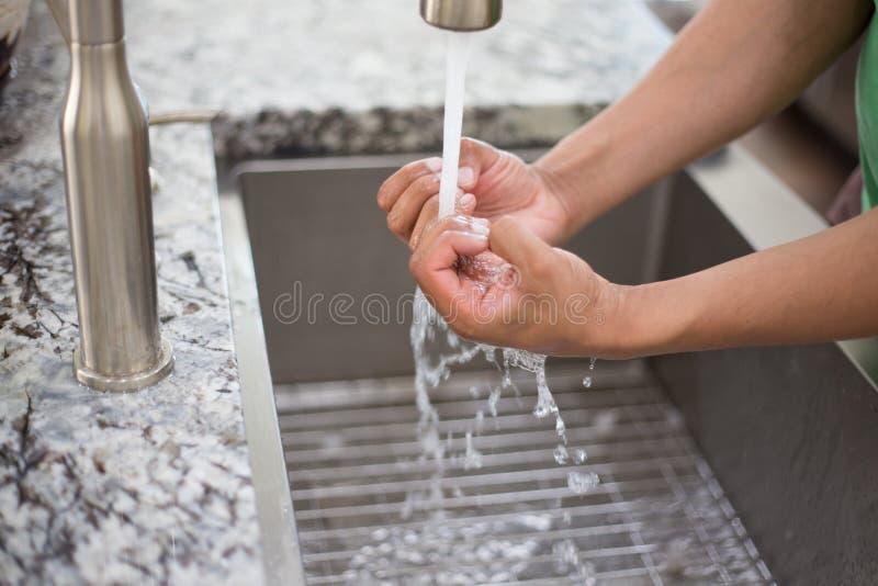 Держите те руки чистый стоковая фотография rf